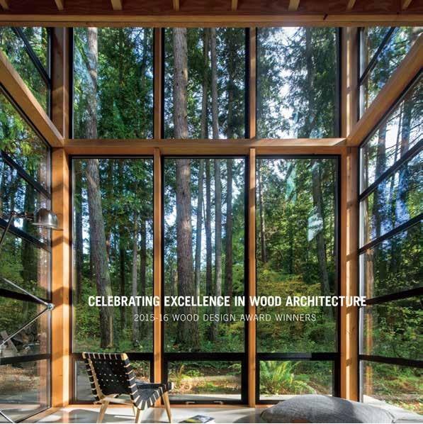 2015-16 North American Wood Design Awards