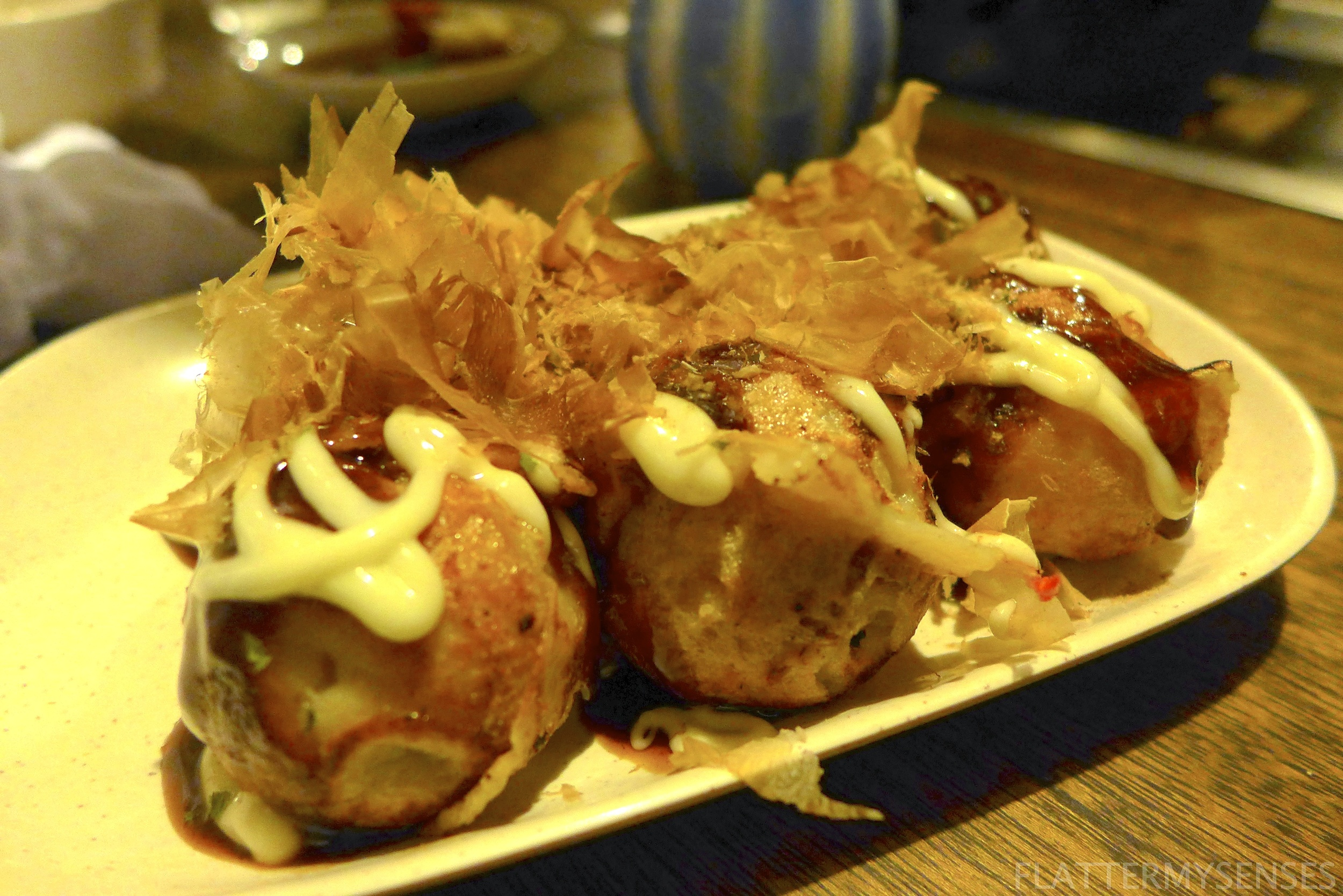 We bought these octopus balls, fondly called as Takoyaki, for only Php 150.