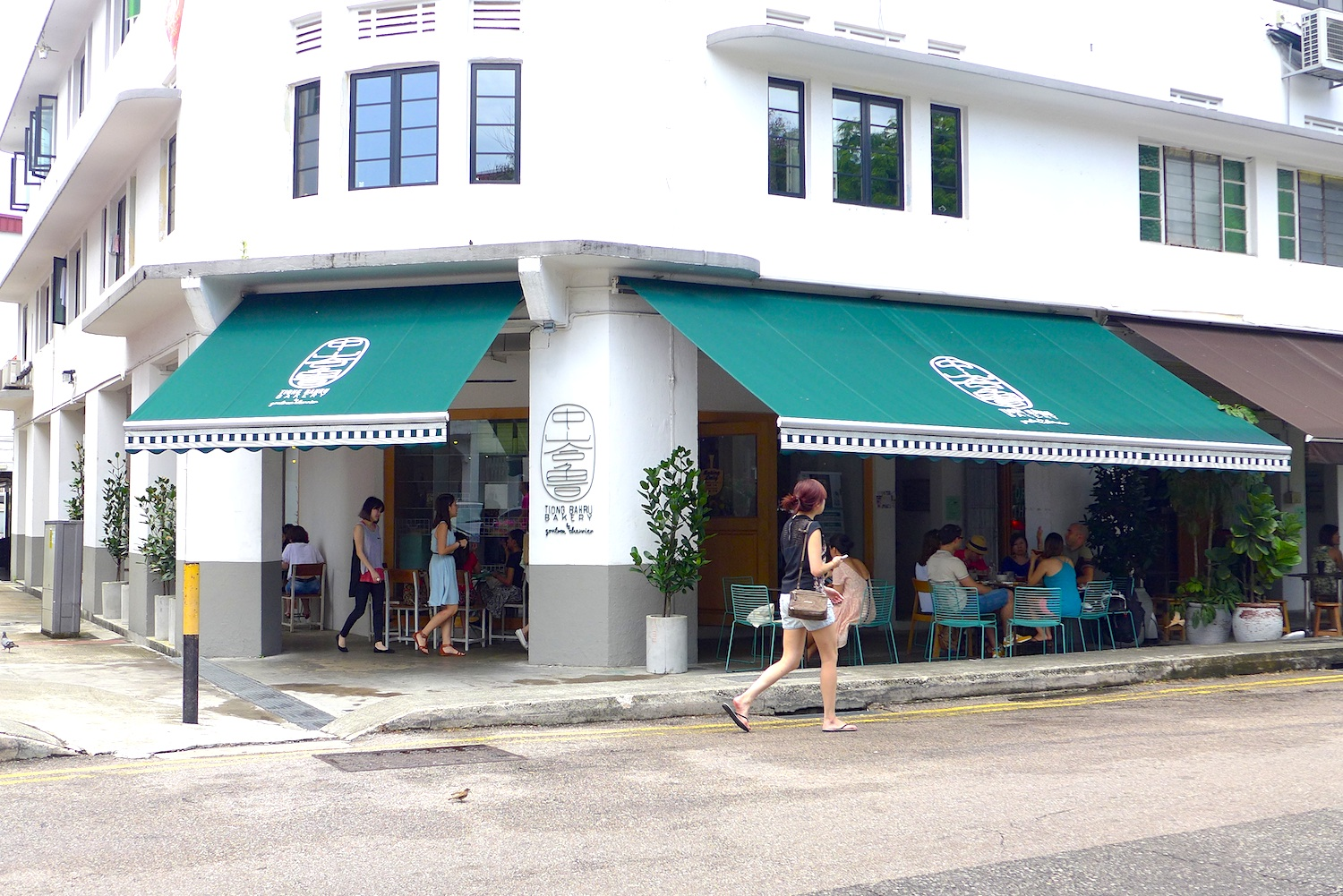 Facade of the Tiong Bahru Bakery.