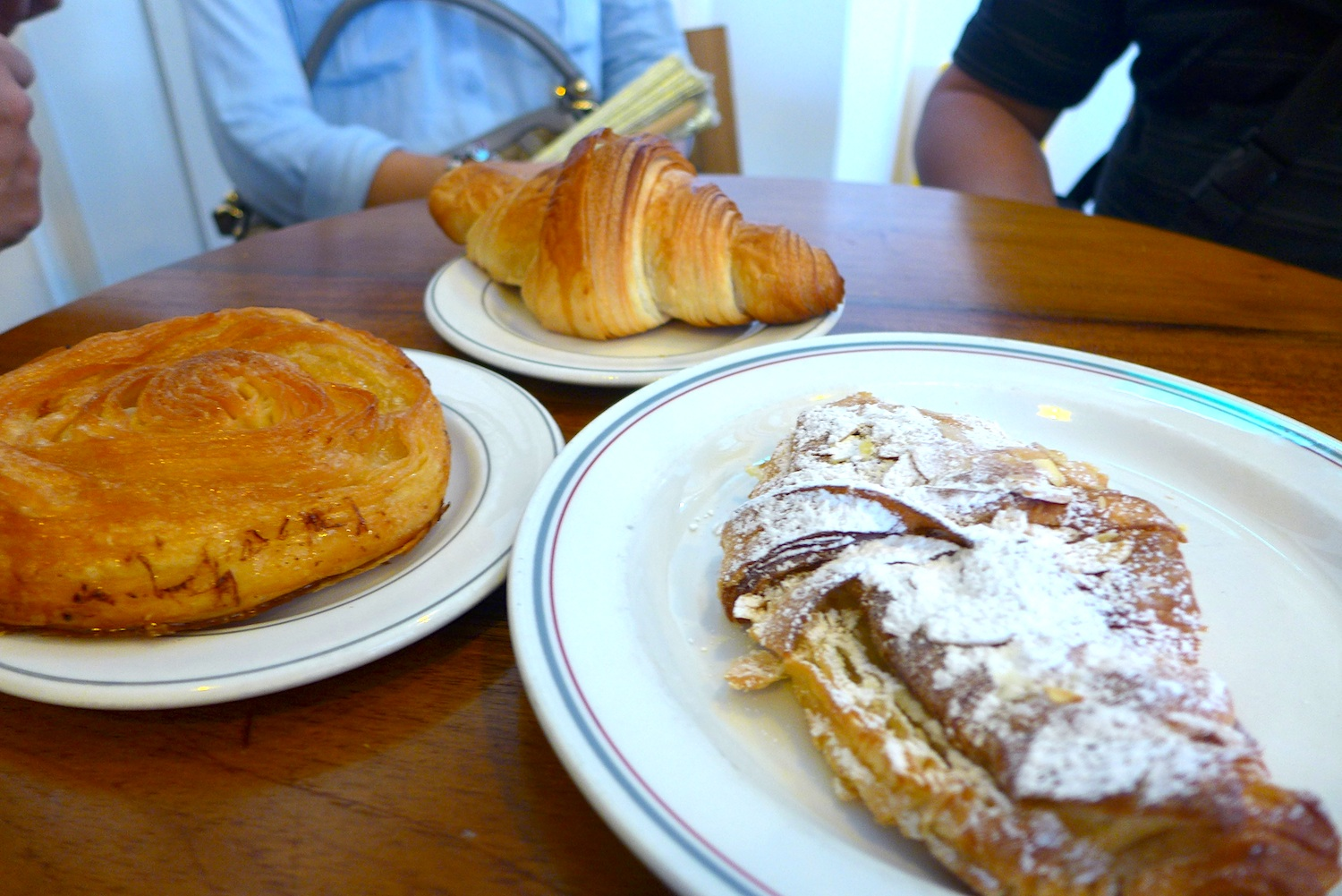 The Almond Croissant (SGD 3.20) and the Kouign Amann (SGD 3.50) won me over completely.
