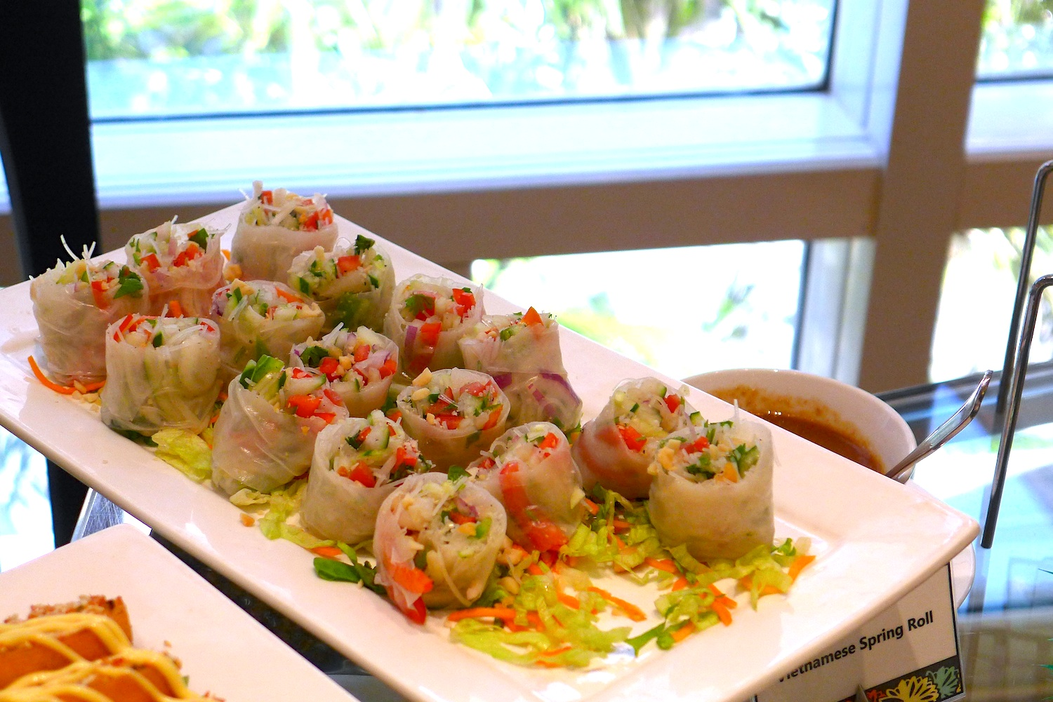Vietnamese Spring Roll. This is a different take on the spring roll.