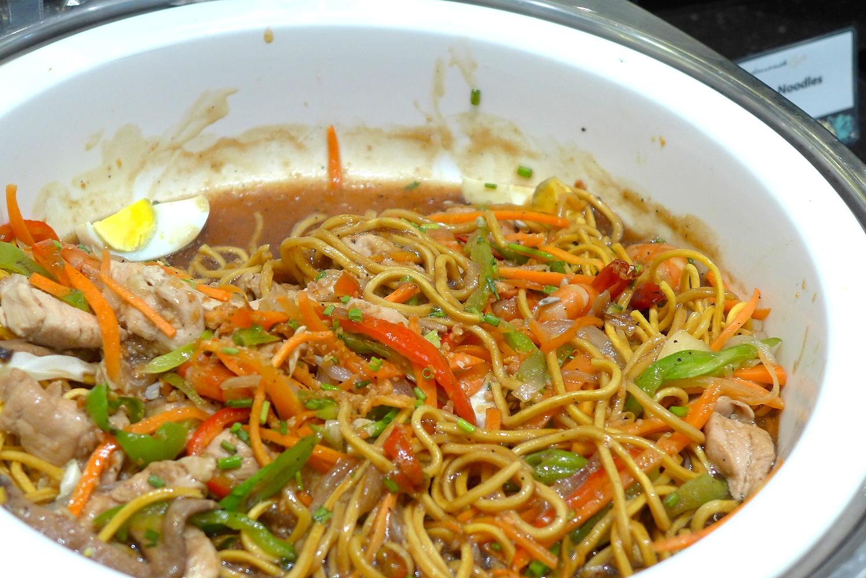 Fried Egg Noodles.