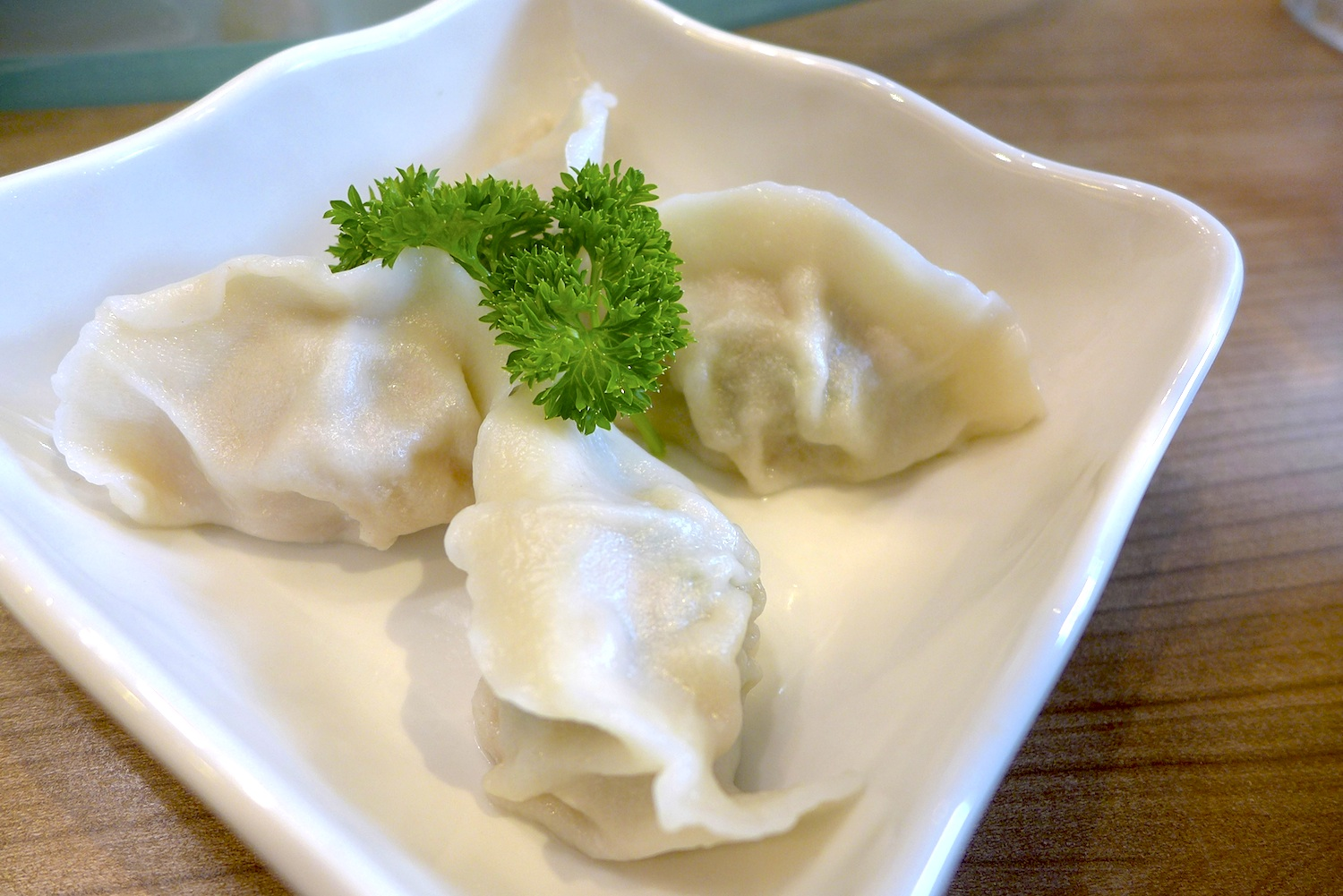 Steamed Vegetable Dumpling