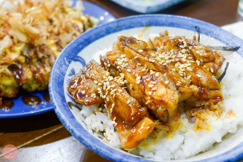 Chicken Teriyaki Don (Php 230)