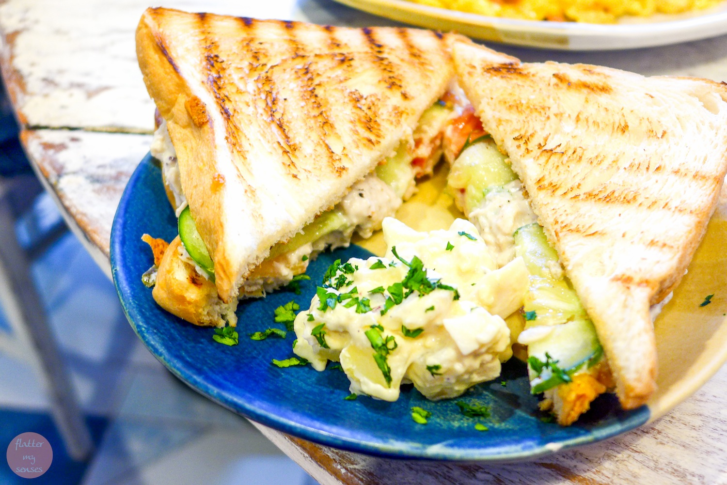 Chicken Salad Sandwich (Php 220)