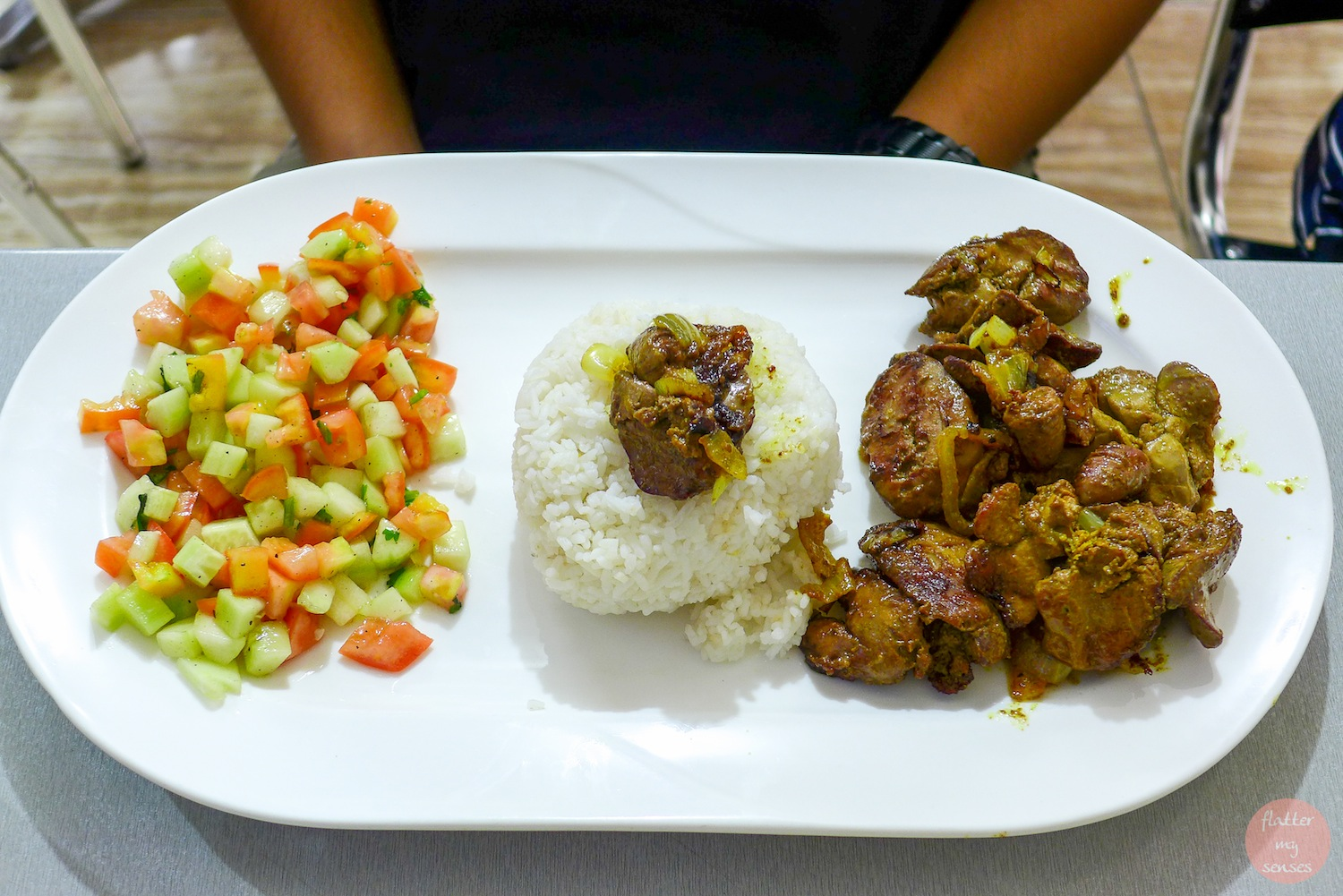 Chicken Liver with Onion (Php 280). You can also get this with mashed potato,french fries or inside a pita.