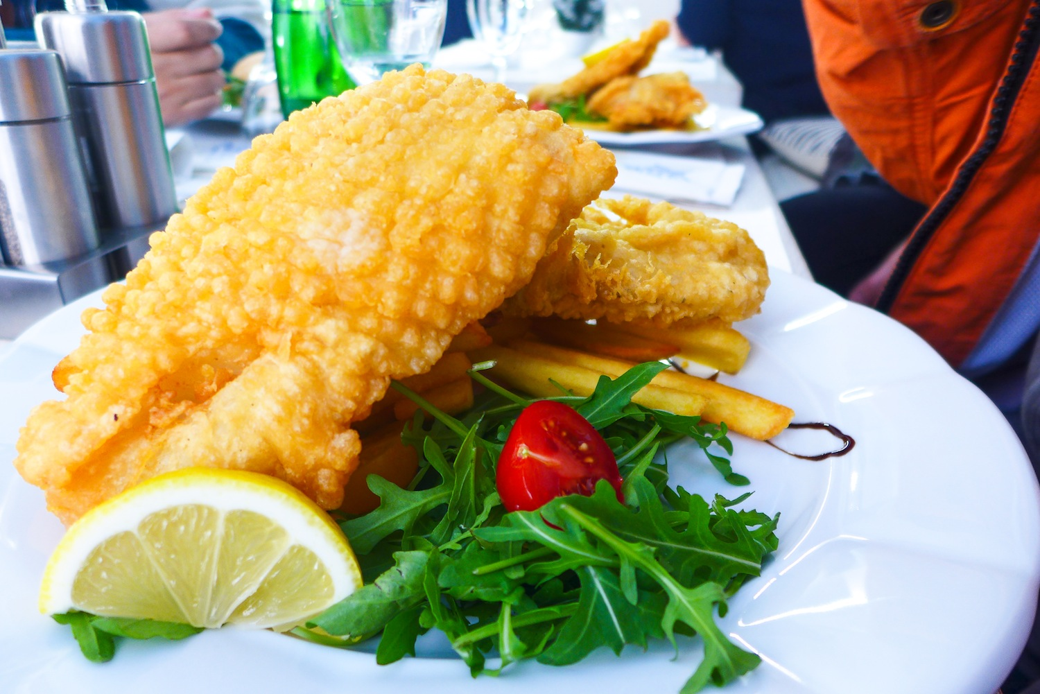 Fish 'n' Chips (CZK 185)