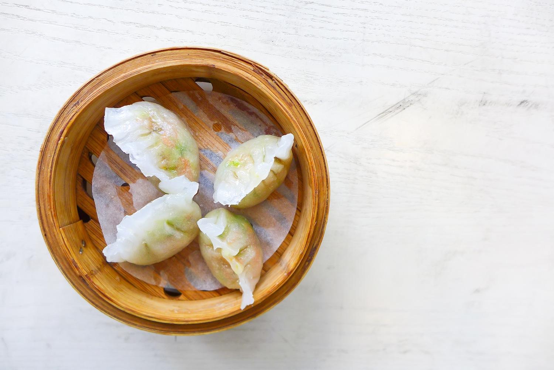 Steamed Vegetarian Dumpling