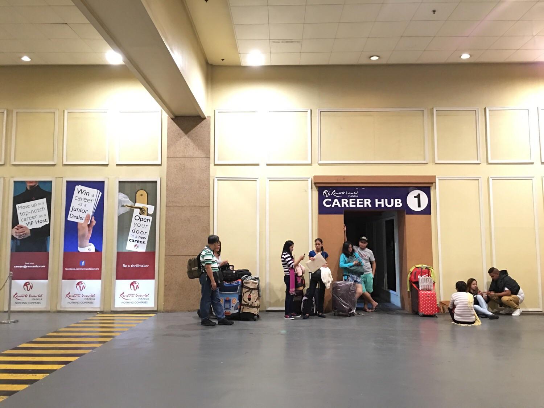 Career Hub in Resorts World Manila near P1