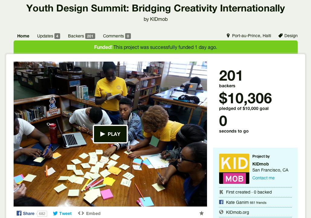 YDS Kickstarter