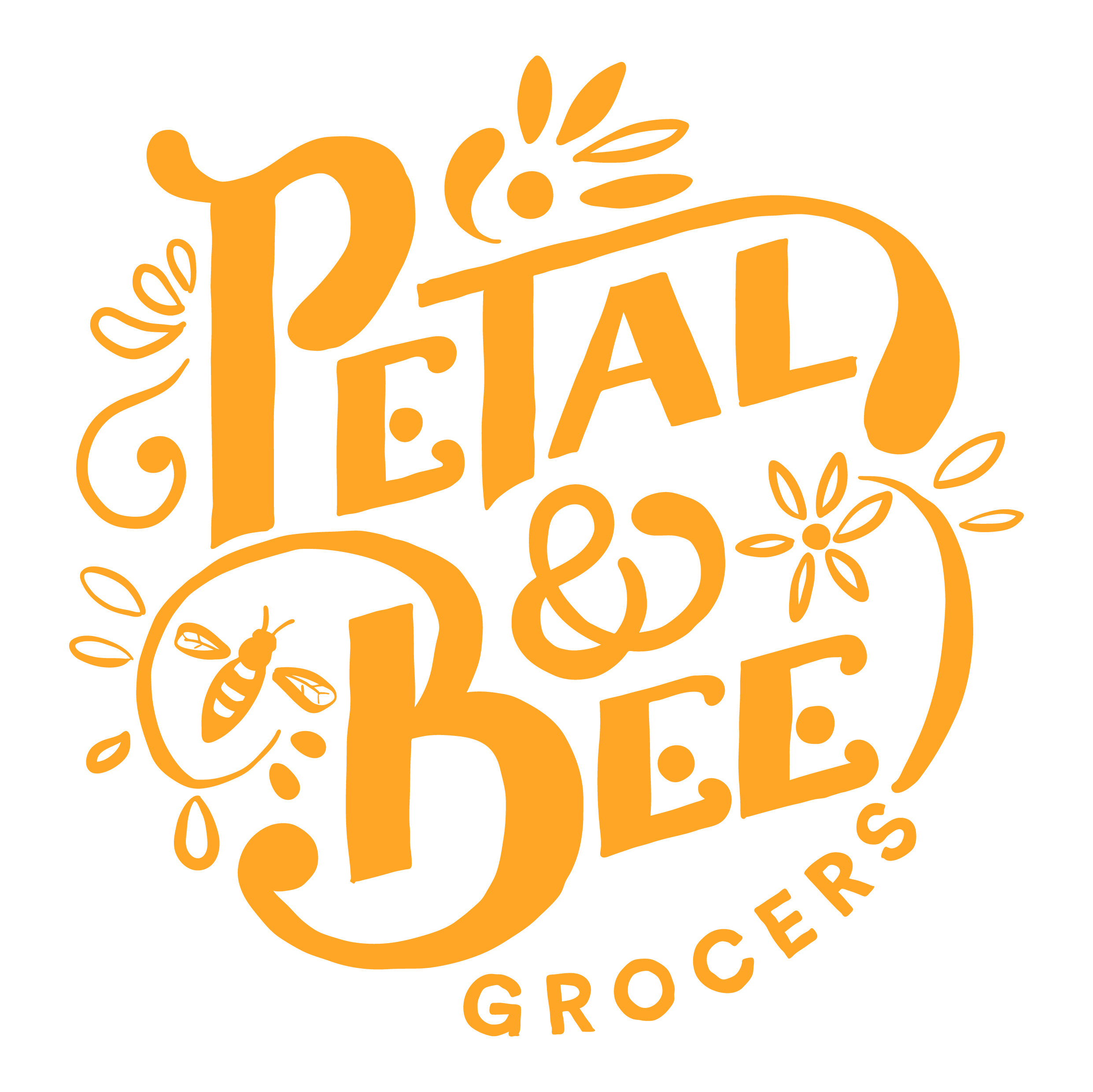 Petal & Bee logo_main yellow.jpg