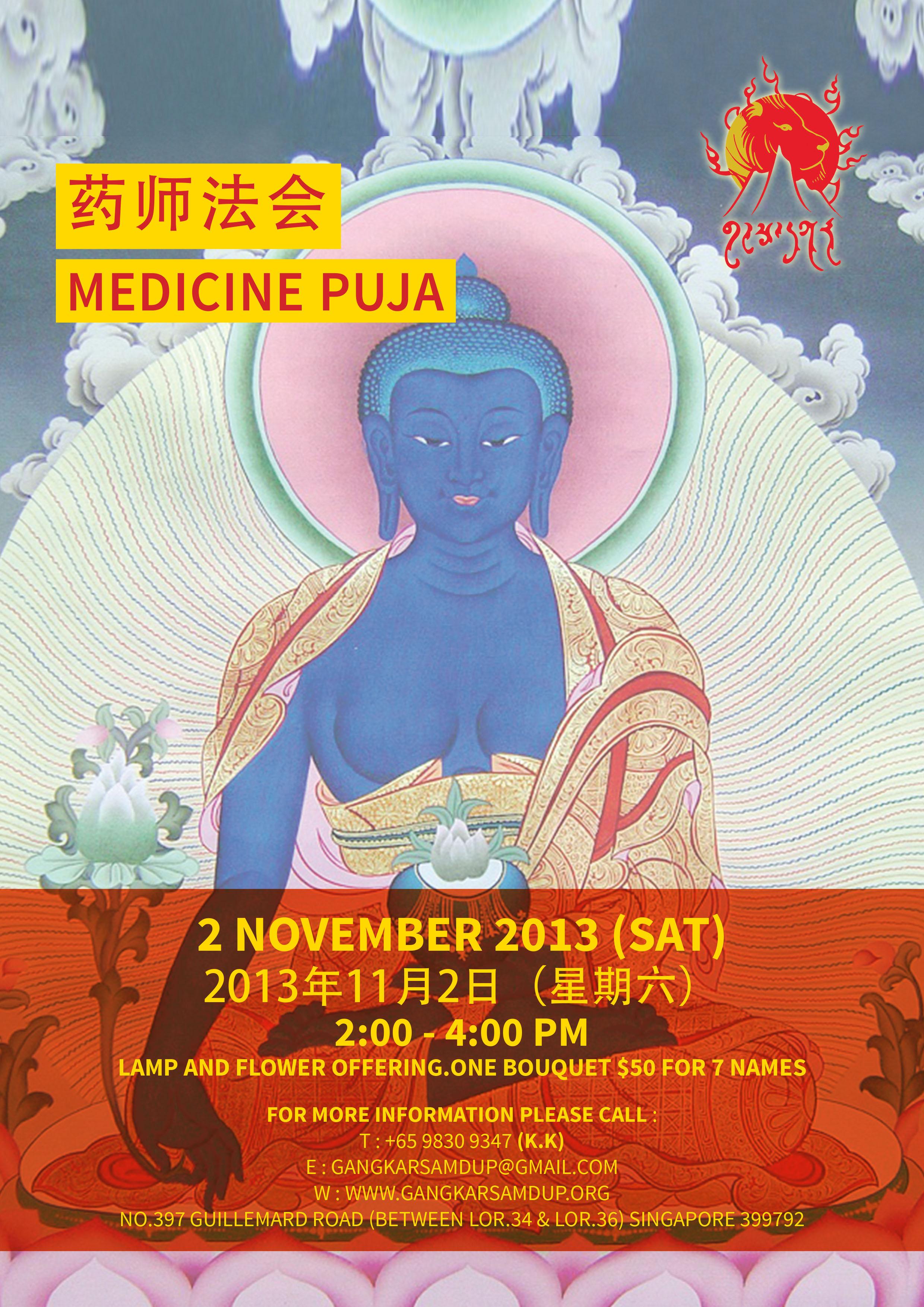 Medicine Puja