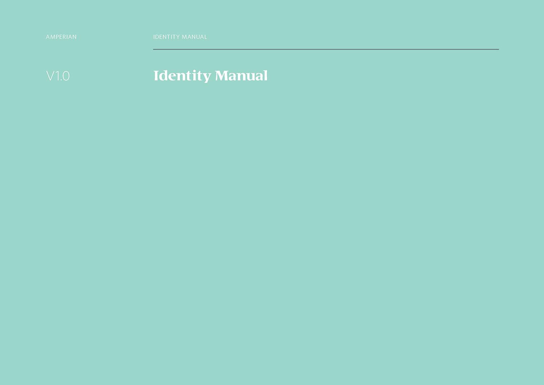 Amperian SG branding corporate identity design guide manual.