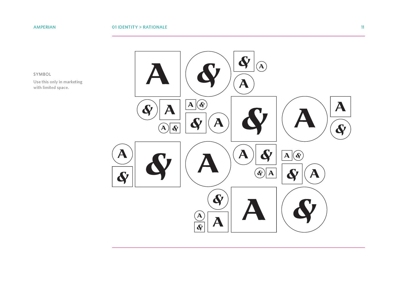 Amperian SG branding corporate identity design guide manual - Identity symbols.
