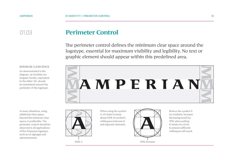 Amperian SG branding corporate identity design guide manual - Perimeter Control.