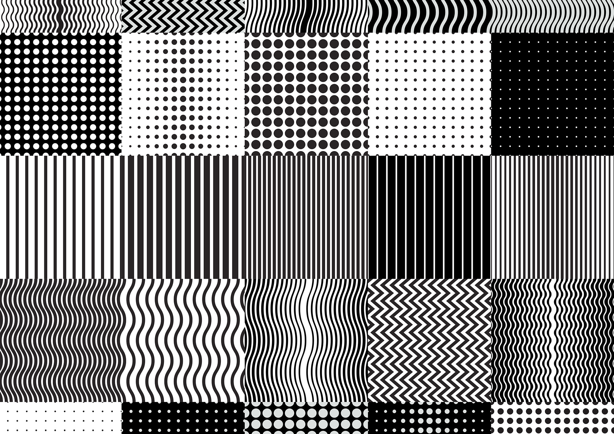 GIF Fest SG festival branding identity - Repeated pattern tiles for 3D key visual animation.