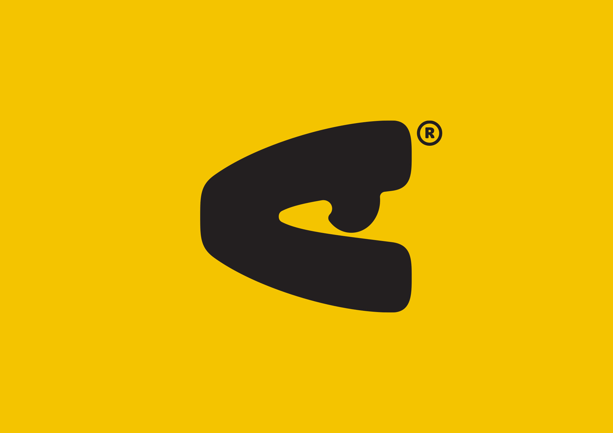 Identity design for EYEYAH! Secondary logo variation - All seeing eye.