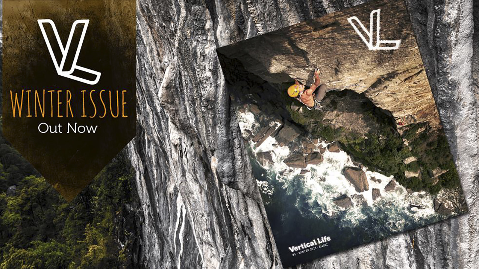 Vertical Life Magazine cover - March 2014