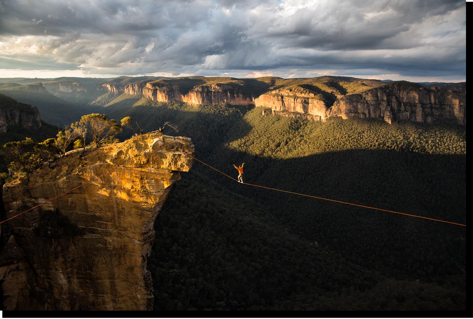 Hanging Rock, Blue Mountains (Australia)
