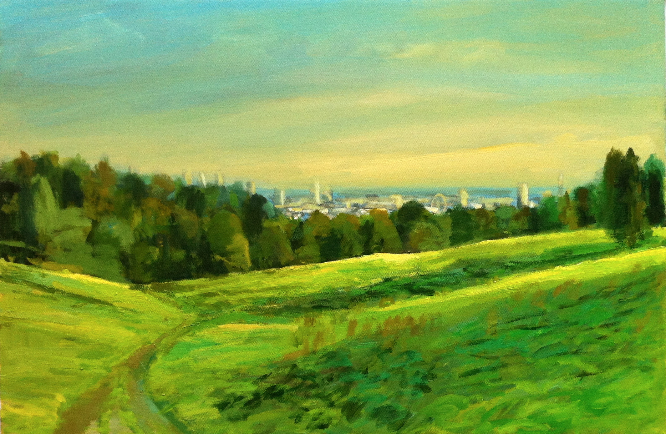 The City from kenwood #2 - 2011