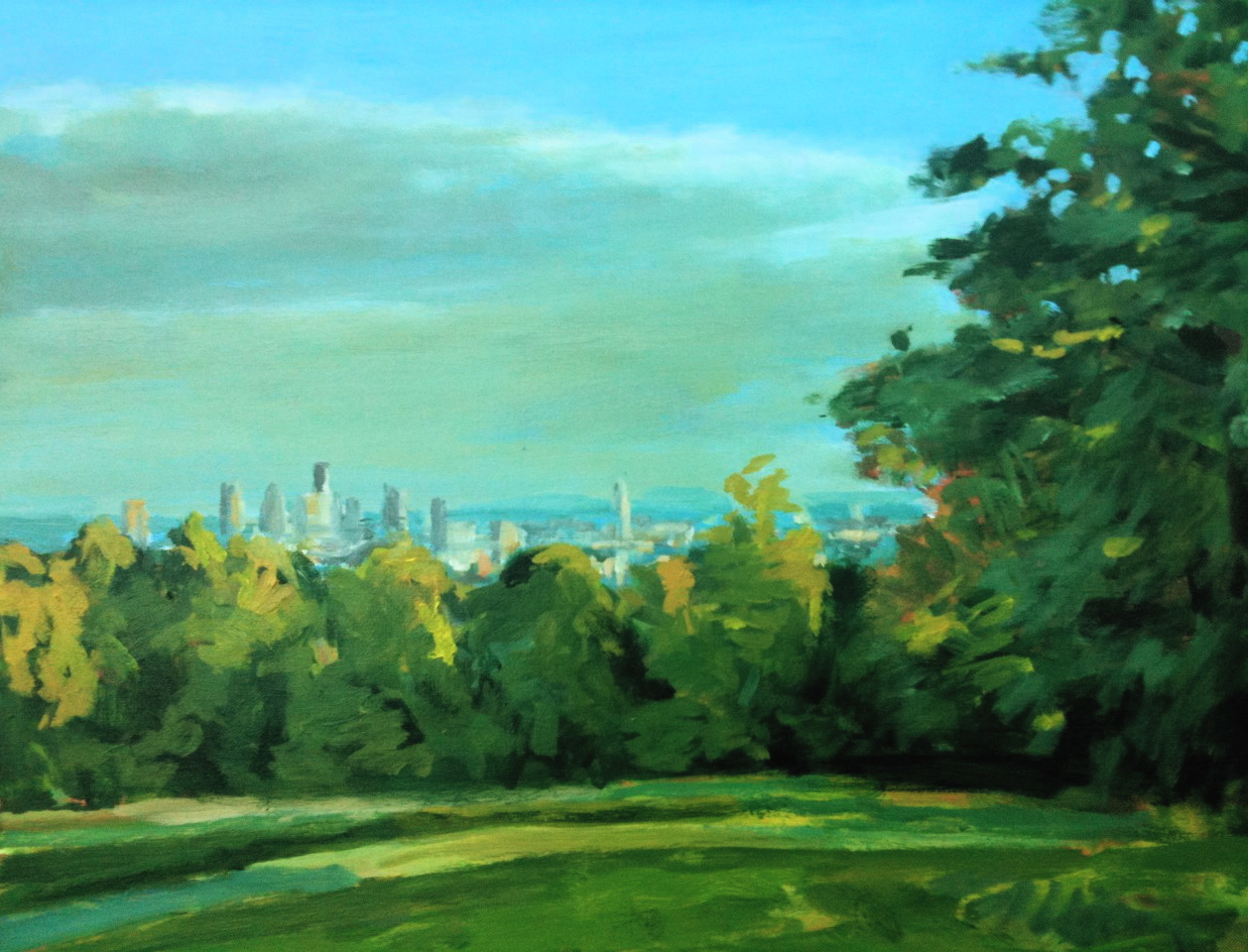 The City from Kenwood, 2010