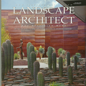 Landscape Architect Magazine Nov 2016