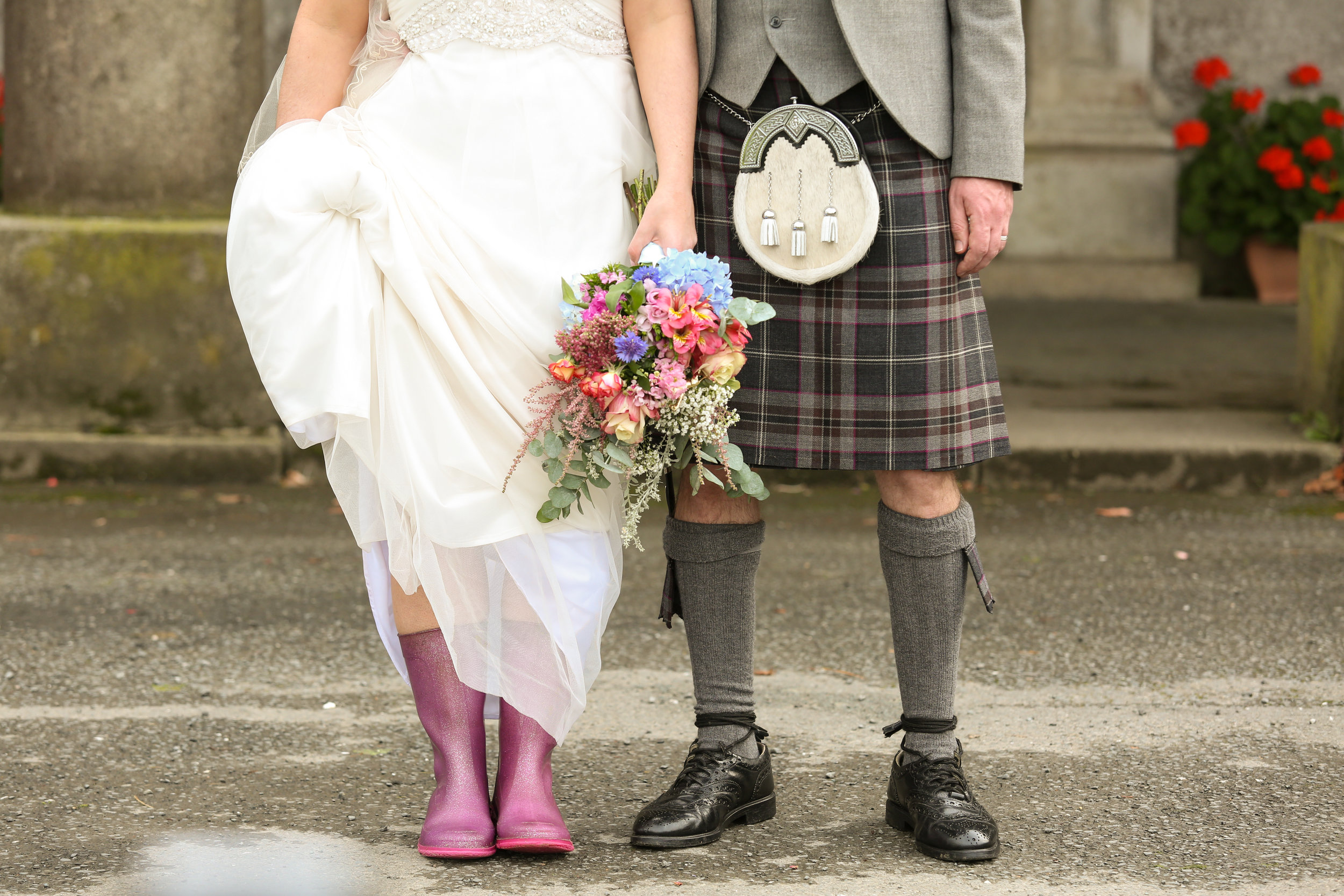 orlando-wedding-photographer-destination-wedding-scotland-castle-kilt-rain-boots.jpg
