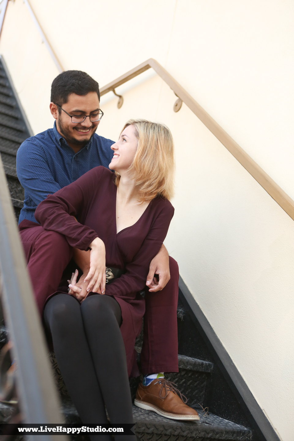 www.livehappystudio.com-church-street-engagement-session-photographer-orlando-central-florida-wedding-photographer-stairs-5.jpg