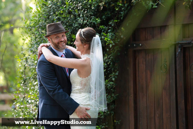 orlando wedding photography  orlando wedding photographer  harmony gardens wedding venue orlando  portrait bride and groom