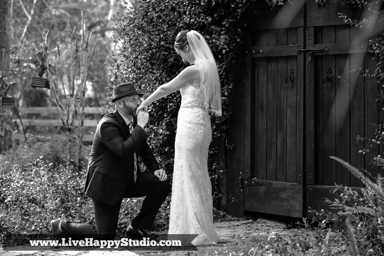 orlando wedding photography  orlando wedding photographer  harmony gardens wedding venue orlando  portrait couple