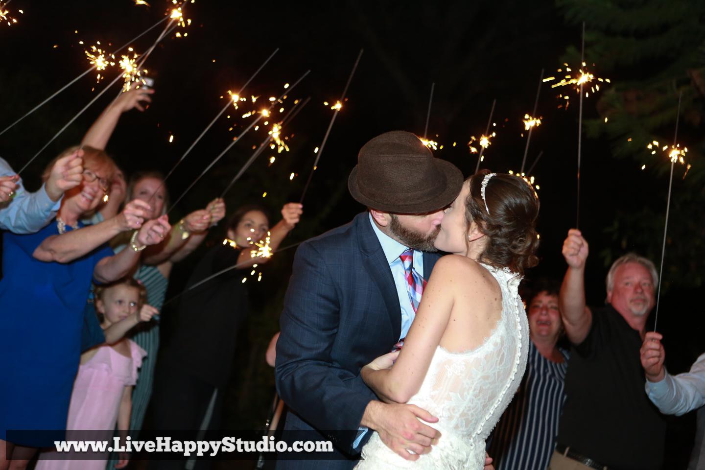 orlando wedding photography  orlando wedding photographer  harmony gardens wedding venue orlando  wedding exit