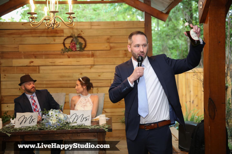 orlando wedding photography  orlando wedding photographer  harmony gardens wedding venue orlando  toasts