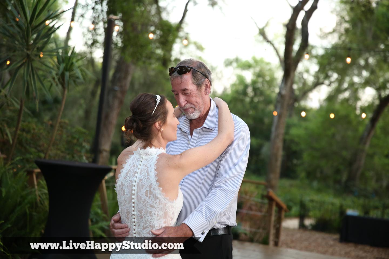 orlando wedding photography  orlando wedding photographer  harmony gardens wedding venue orlando  dad and daughter dance  father daughter dance