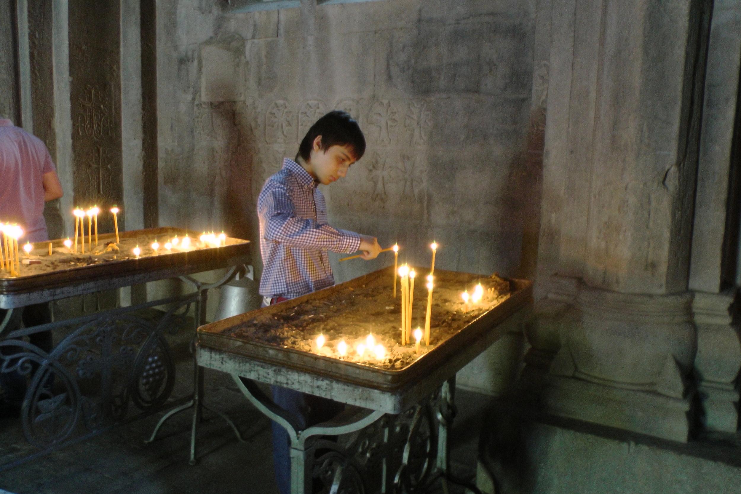 femte århundre kirken i Karabakh.JPG