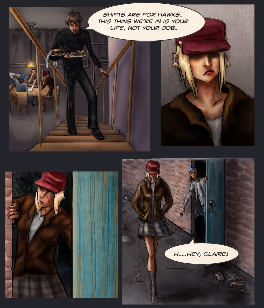 After-comic Webcomic science fiction post apocalypse Chapter 1 page 5