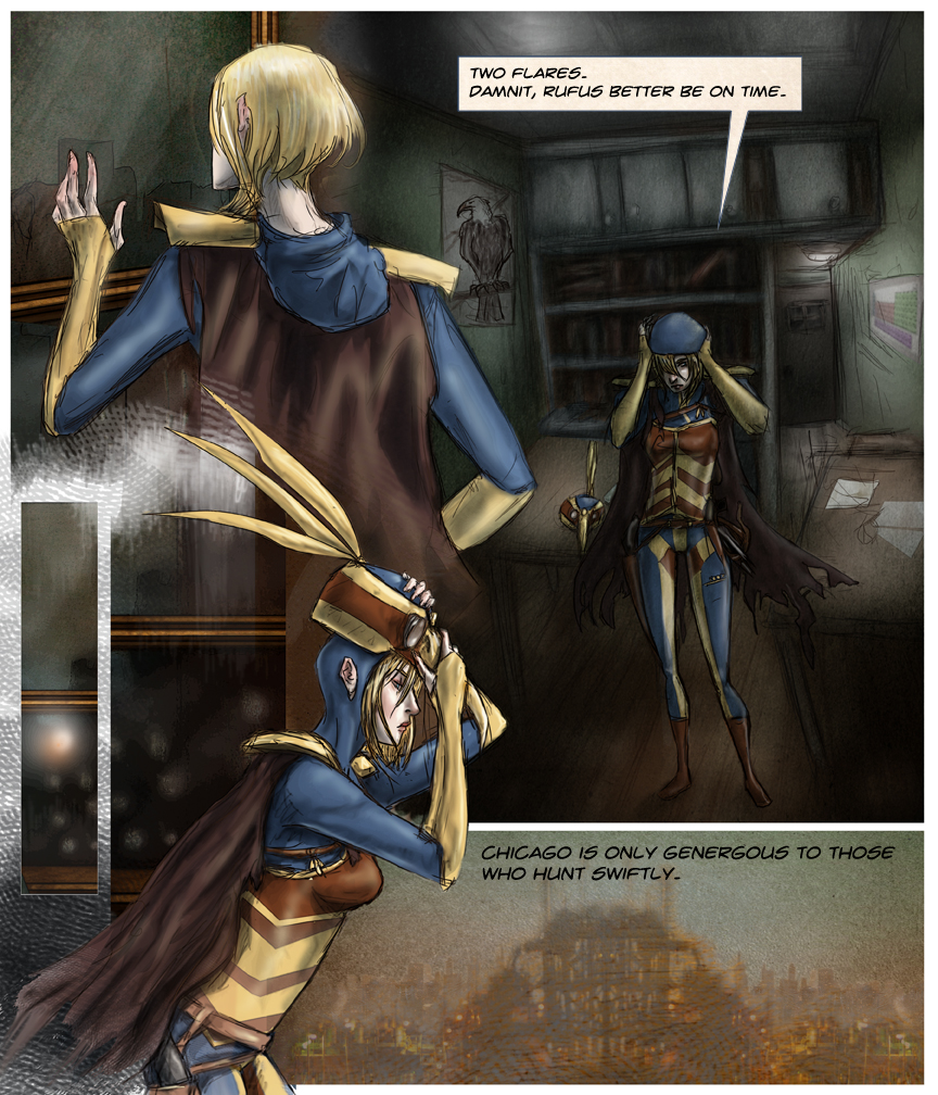 After-comic Webcomic comics webserries science fiction post apocalypse Chapter 1 page 16