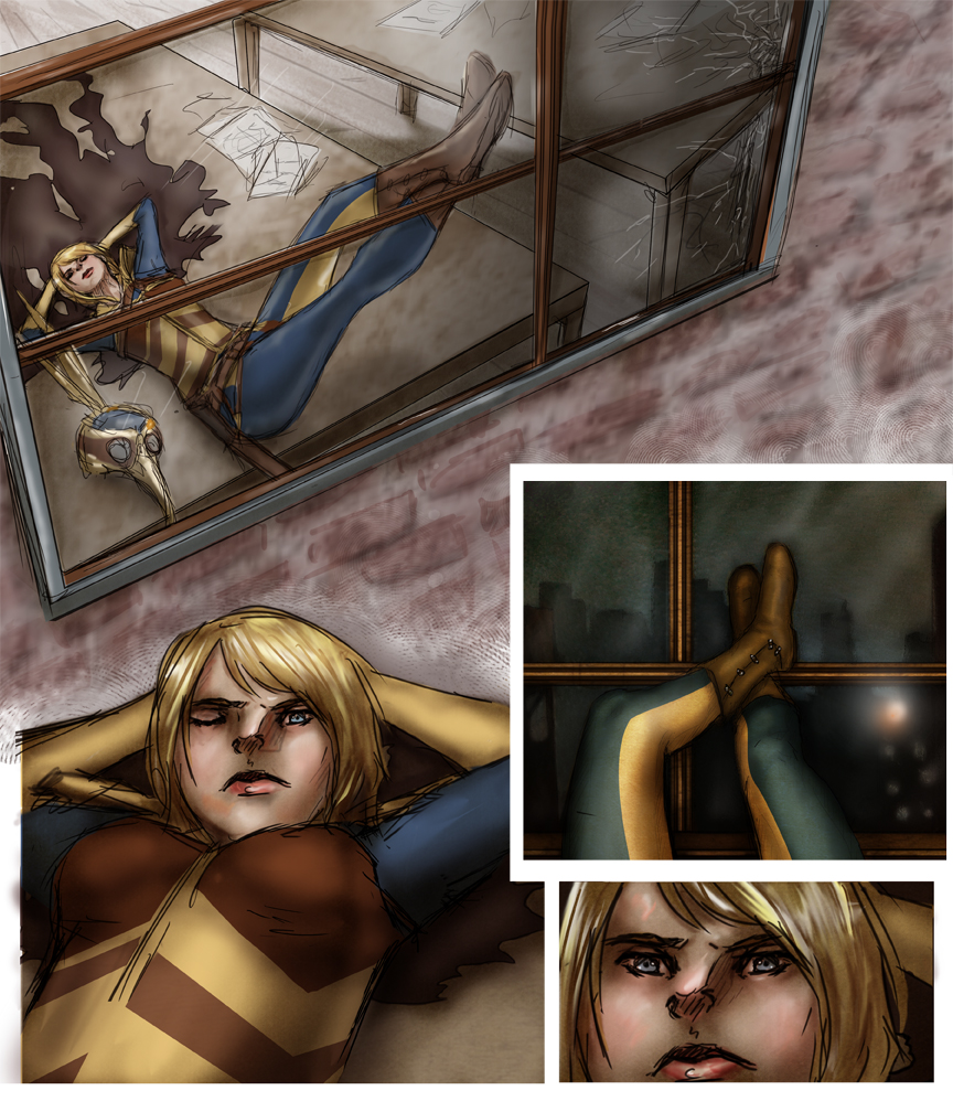 After-comic Webcomic comics webserries science fiction post apocalypse Chapter 1 page 15