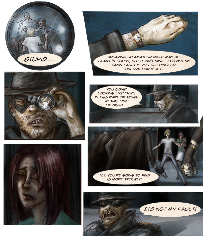 After-comic Webcomic comics webserries science fiction post apocalypse Chapter 1 page 17