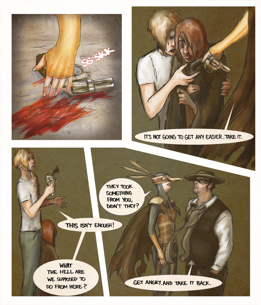 After-comic Webcomic comics webserries science fiction post apocalypse Chapter 1 page 30