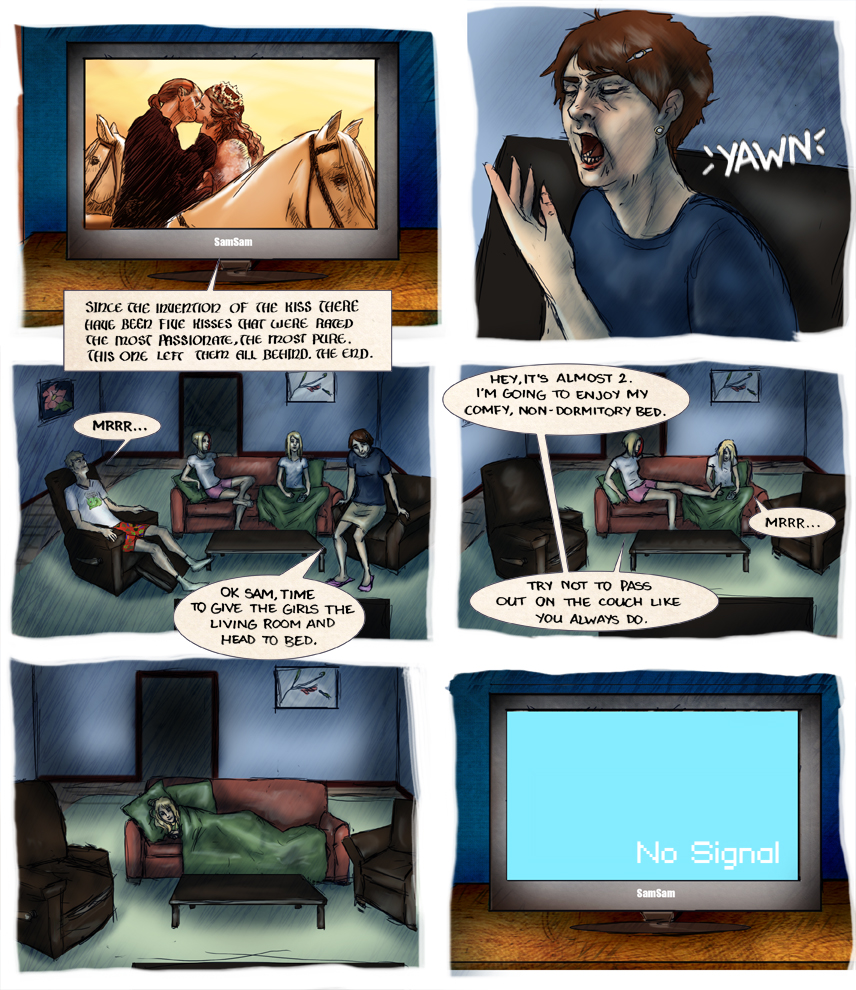 After-comic Webcomic comics webseries science fiction post apocalypse Chapter 2 page 7