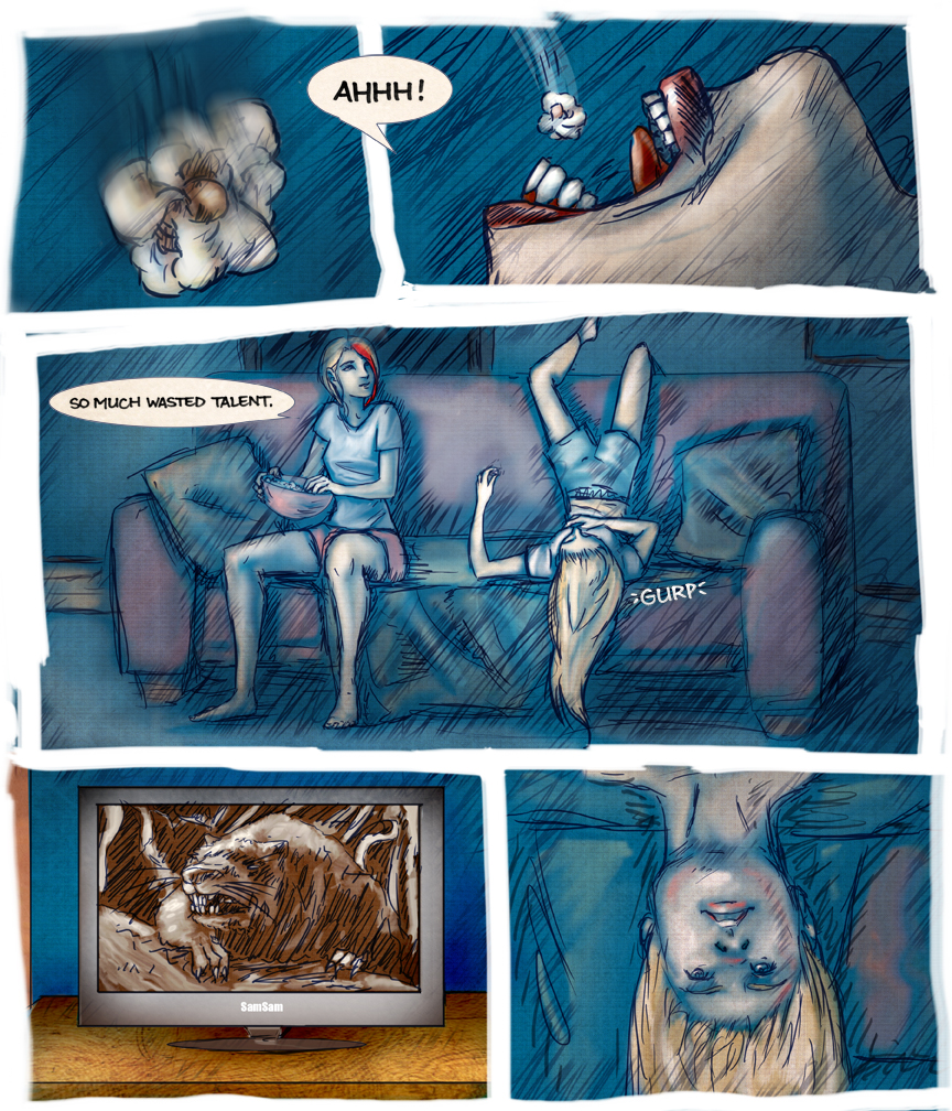 After-comic Webcomic comics webseries science fiction post apocalypse Chapter 2 page 6