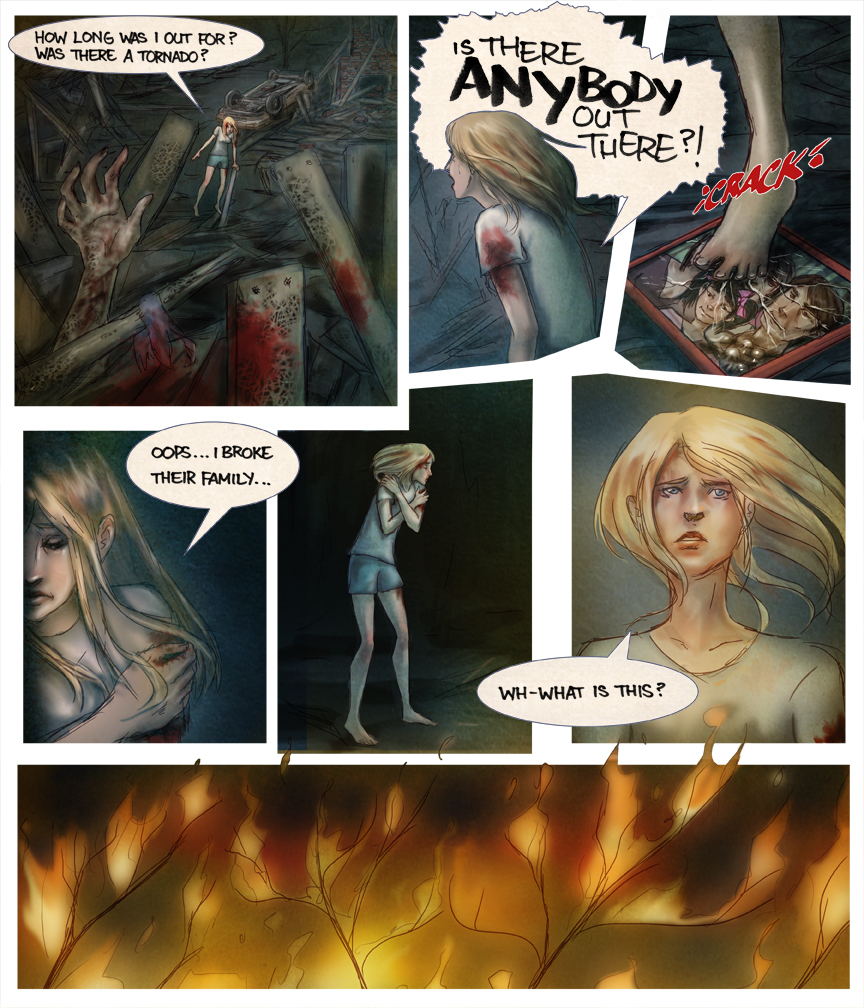 After-comic Webcomic comics webseries science fiction post apocalypse Chapter 2 page 14
