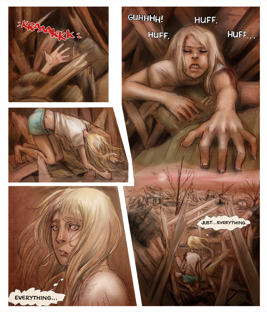 After-comic Webcomic comics webseries science fiction post apocalypse Chapter 2 page 10