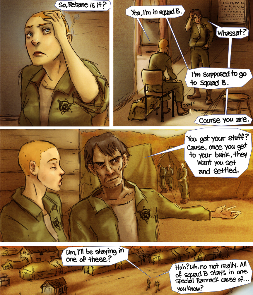 After-comic Webcomic comics webseries science fiction post apocalypse Chapter 3 Page 32