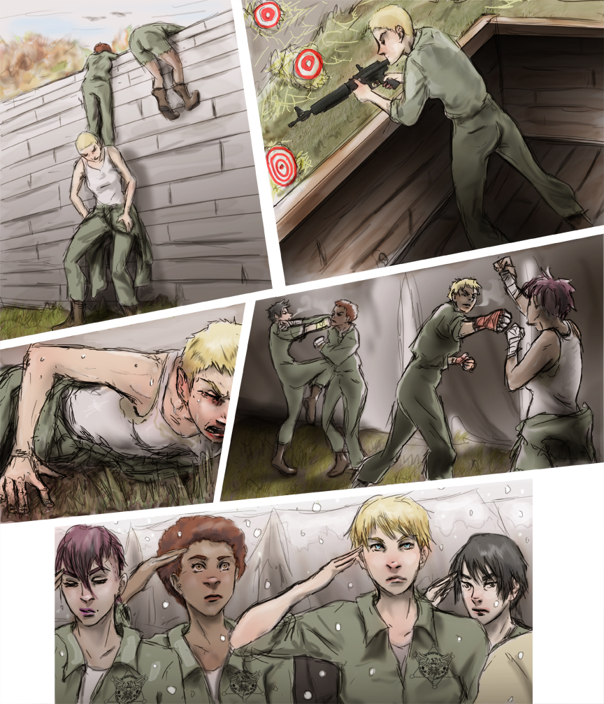 After-comic Webcomic comics webseries science fiction post apocalypse Chapter 3 Page 34