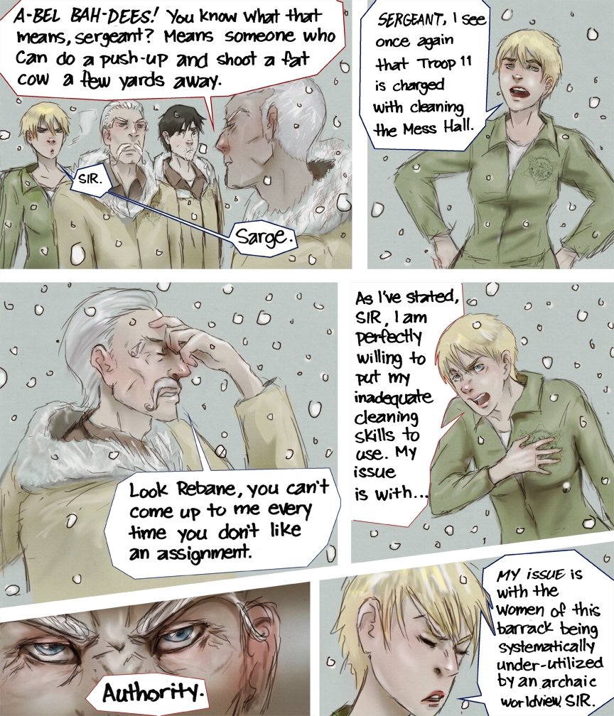 After-comic Webcomic comics webseries science fiction post apocalypse Chapter 3 Page 38