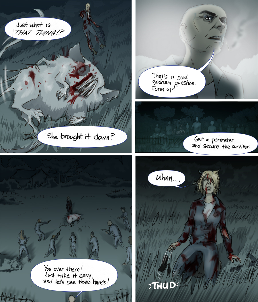 After Webcomic Chapter 5 page 3 Post Apocalypse Sci-Fi