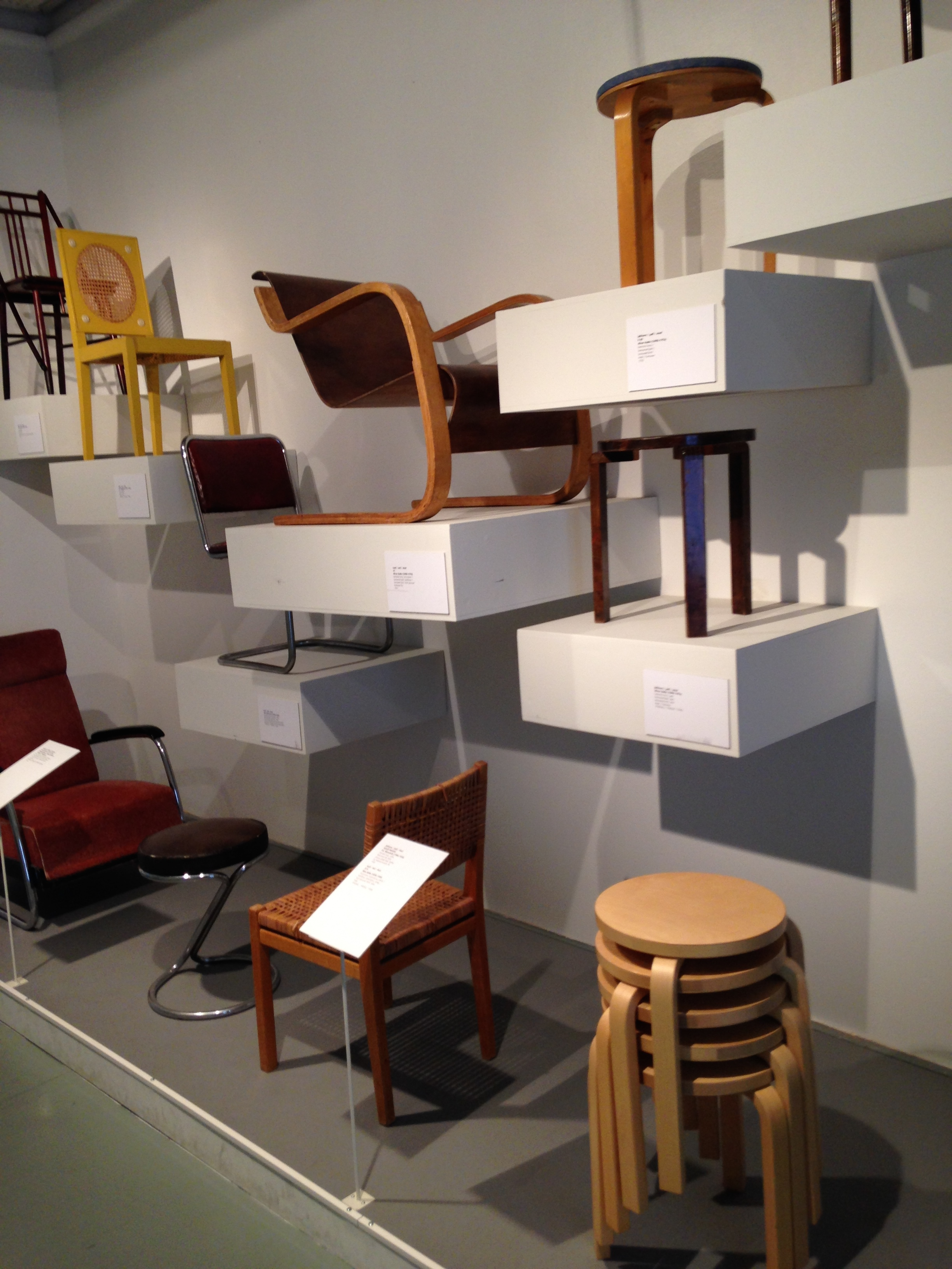 Classic Finnish furniture design at the Design Museum.
