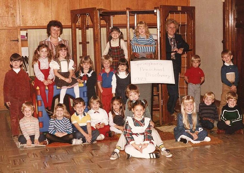 Springboro Preschool Discovery 1983