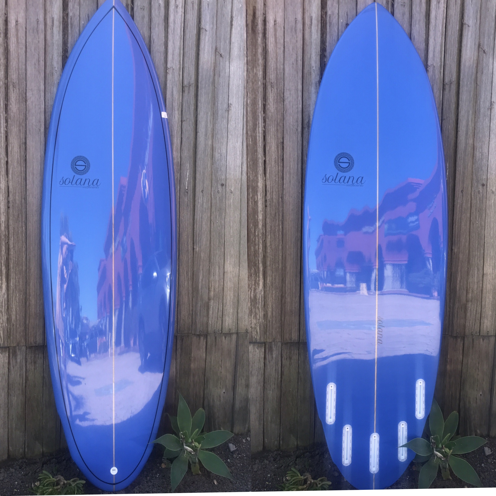 5'10 Solana Surfboards - Smurf